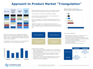 Product Market Triangulation 041619